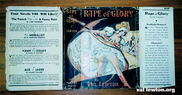 Rape of Glory by Val Lewton
